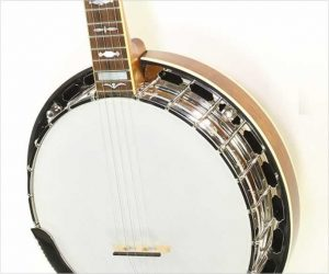 Gold Star GF 100JD J D Crowe Bluegrass Album Banjo, 2019