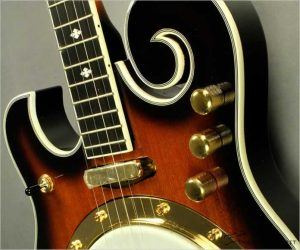 Gold Tone EBM-5 Solidbody Electric Banjo - Left Handed (Not In Stock)