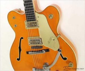 ❌SOLD❌ Gretsch 6120 Chet Atkins Thinline Archtop Electric Western Orange, 1962