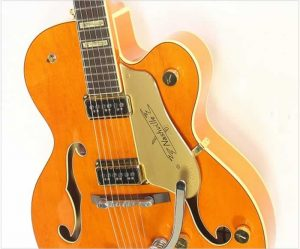 Gretsch 6120DSW Nashville Archtop Electric, Orange 2003 - The Twelfth Fret