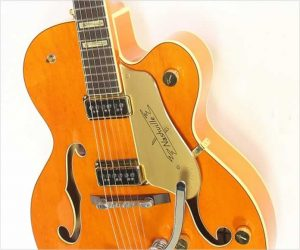 Gretsch 6120DSW Nashville  Archtop Electric, Orange 2003