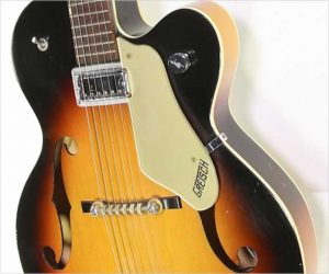 ❌SOLD❌ Gretsch Anniversary 6124 Archtop Electric Guitar Sunburst,  1963