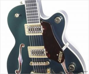 Gretsch Broadkaster Jr Player's Edition Center Block Cadillac Green, 2017 - The Twelfth Fret