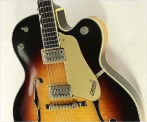 Gretsch Country Club 6195 Archtop Electric Sunburst, 1960