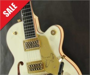 Gretsch G6112TCB-WF Limited Edition Falcon Jr. White, 2016 - The Twelfth Fret