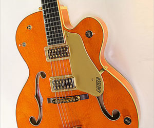 ❌ SOLD ❌ Gretsch G6120-1959LTV Archtop Electric, Orange 2000