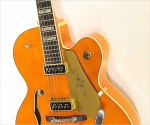Gretsch G6120 DSW Archtop Electric Guitar Orange, 2009