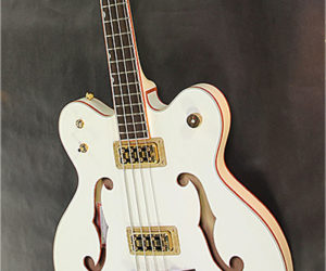 ❌SOLD❌ Gretsch G6136LSB White Falcon Bass, 2011