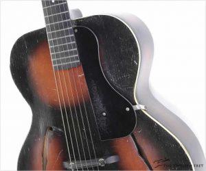 Gretsch Model 35 Archtop Guitar Sunburst, 1933