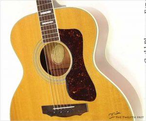 Guild Bluegrass F47 Steel String Acoustic Natural, 1972 - The Twelfth Fret