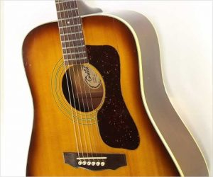 ❌SOLD❌ Guild D40SB Steel String Dreadnought Guitar Sunburst, 1975
