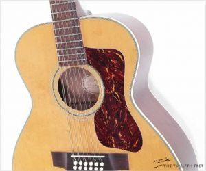 Guild F212 NT 12 String Acoustic Guitar Natural, 1970