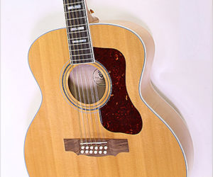 SOLD!  Guild F412 Jumbo Maple 12-String Guitar Natural, 2013