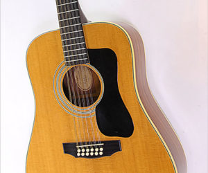 SOLD!  Guild G312 12 String Dreadnought Guitar Natural, 1975