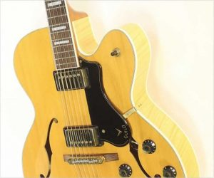 Guild GSR X180 Archtop Electric Blonde, 2013