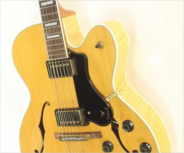 Guild GSR X180 Archtop Electric Blonde, 2013 - The Twelfth Fret