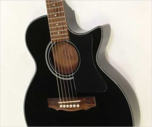 ❌ SOLD ❌ Guild Songbird Thin Body Acoustic Electric Black, 1990