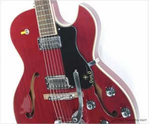 Guild Starfire III ReissueThinline Archtop Electric Cherry Red, 2017 - The Twelfth Fret