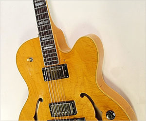 Guild X-170 Thinline Archtop Electric Guitar Amber, 1985 - The Twelfth Fret