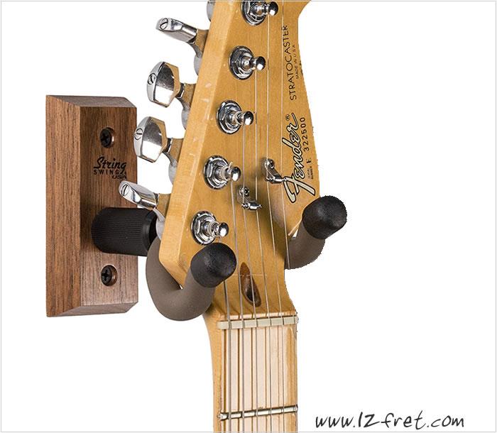 string swing guitar hanger shop online the twelfth fret the twelfth fret guitarists 39 pro shop. Black Bedroom Furniture Sets. Home Design Ideas