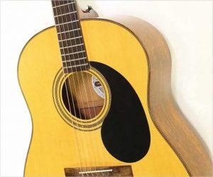 ❌SOLD❌   Gurian JM Jumbo Mahogany Steel String Guitar, 1979