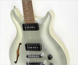 ❌ Sold ❌ Hamer USA Artist P90  Silver Metallic, 1999