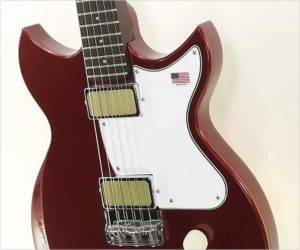 Harmony Rebel Solidbody Electric Guitar, Burgundy