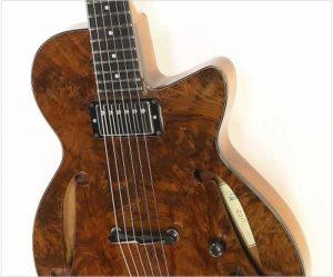 Harrison GB Custom Redwood Burl Top, 2017 - The Twelfth Fret