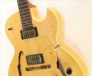 ❌SOLD❌  Heritage H575 Cutaway Archtop Electric Blonde, 1990