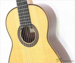 Hill Torres 1856 640mm Classical Guitar Natural, 2008