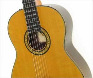 Hirade TH5 Classical Guitar with Pickup, 2010