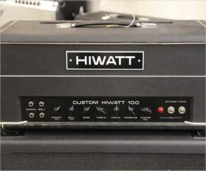 Hiwatt DR-103 100w Tube Amplifier Head, 1974
