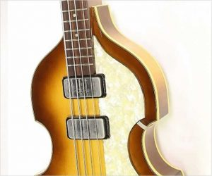Sold!  Hofner Cavern Bass 500/1 1961 Reissue Sunburst, 2004