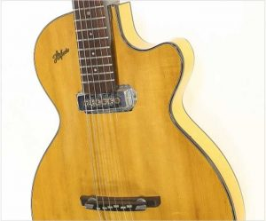 Hofner Club 40 Thin Archtop Electric Guitar Natural, 1957 - The Twelfth Fret