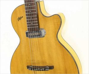 Hofner Club 40 Thin Archtop Electric Guitar Natural, 1957