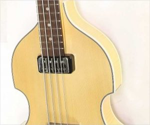 ❌SOLD❌ Hofner Gold Label 500/1 Violin Bass Natural, 2014