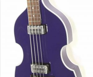 Hofner Gold Label Violin Bass Berlin Purple, 2015 - The Twelfth Fret