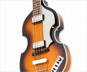 They're Back! Hofner HCT-500/1 SB Violin Bass Contemporary Beatle Bass