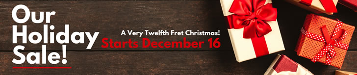A Very Twelfth Fret Christmas - Christmas Special - Starts December 16