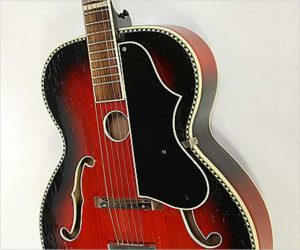 ❌ SOLD ❌ Hopf Archtop Guitar for Remeny Music, 1950s