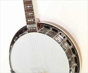 ❌SOLD❌ Huber Lancaster 5 String Banjo Mahogany, 2006