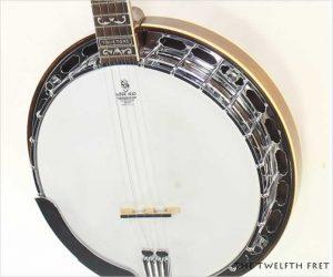 Huber VRB4 Truetone Walnut 5 String Banjo, 2014