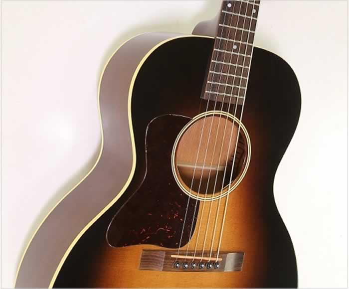 Huss and Dalton Crossroads Left Handed Guitar Sunburst, 2013 - The Twelfth Fret
