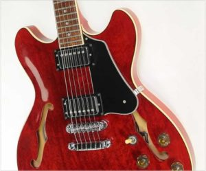 Ibanez AS80 Artist Thinline Electric Cherry, 1983 - The Twelfth Fret