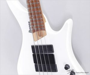 Ibanez EHB1000 Headless Bass Pearl White Matte, 2020 - The Twelfth Fret
