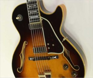 Ibanez George Benson GB10 BS Sunburst Thinline Archtop Guitar, 1983