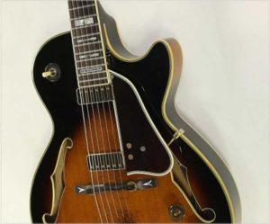 Ibanez George Benson GB10 BS Sunburst Thinline Archtop Guitar, 1986 - The Twelfth Fret