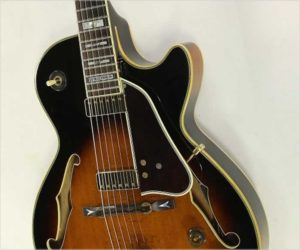REDUCED!  Ibanez George Benson GB10 BS Sunburst Thinline Archtop Guitar, 1986