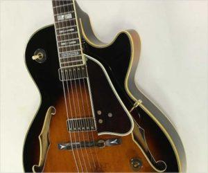 Ibanez George Benson GB10 BS Sunburst Thinline Archtop Guitar, 1986