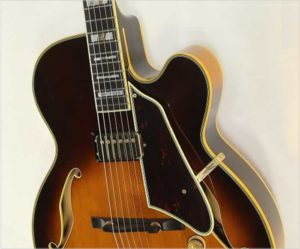 Ibanez Joe Pass JP20 Archtop Guitar Sunburst, 1980 - The Twelfth Fret